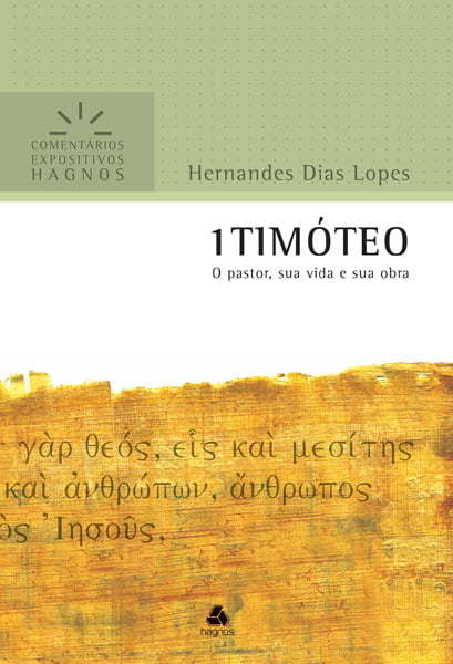 comentário 1 Timóteo