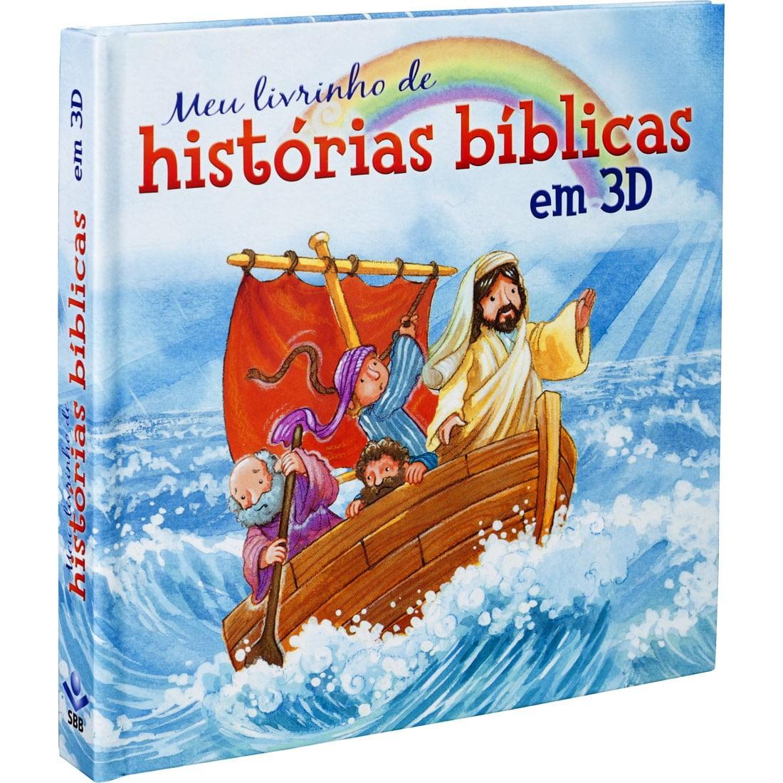 MEU LIVRINHO DE HISTORIAS BIBLIBAS EM 3D