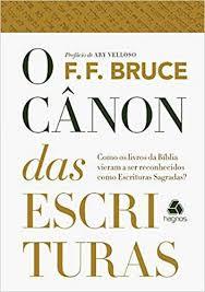 O CANON DAS ESCRITURAS