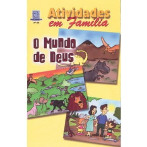 CULTO INFANTIL - O MUNDO DE DEUS -  VOL 3 - ALUNO