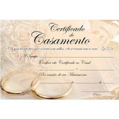 CERTIFICADO DE CASAMENTO INTERDENOMINACIONAL C/ 20 UNID - 00440