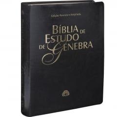 BÍBLIA DE ESTUDO DE GENEBRA capa preta