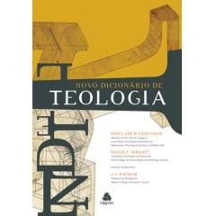 NOVO DICIONARIO DE TEOLOGIA - COD 01000