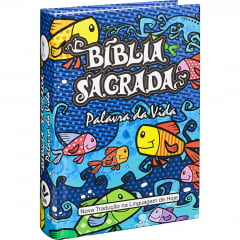 Bíblia Sagrada Palavra da Vida C/ ILUSTRAÇÕES CAPA DURA - COD 01177