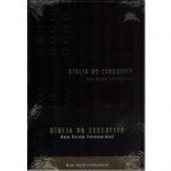 BIBLIA DO EXECUTIVO NVI LUXO PRETA COD 1335