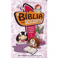 A Bíblia das Descobertas NTLH - Capa dura Rosa cod 1428