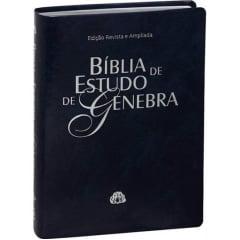 BIBLIA DE ESTUDO GENEBRA AZUL Cod.1852
