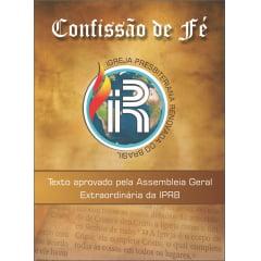CONFISSÃO DE FÉ IPRB  de 1 a 5 Unidades  cod. 1876