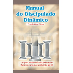 MANUAL DO DISCIPULADO DINAMICO cod 1886