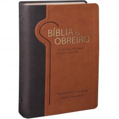 BÍBLIA DO OBREIRO -  CAPA MARROM