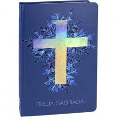Bíblia Sagrada capa dura - Cruz Luz