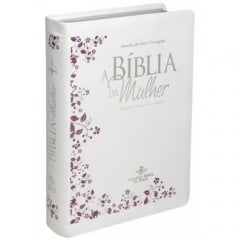 BIB. DA MULHER CP BRANCA  FLOR cod 1989