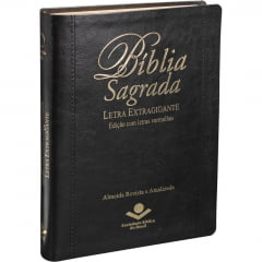 BIB LETRA EXTRA GIGANTE COM ÍNDICE DIGITAL