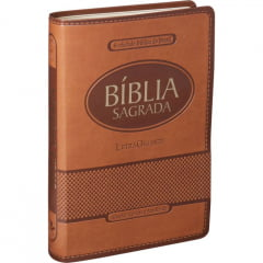 BÍBLIA LETRA GIGANTE - MARROM