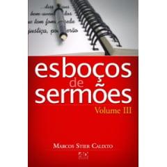 Esboços de Sermões - Vol. 3