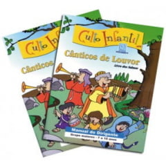 CULTO INFANTIL - CÂNTICOS DE LOUVOR. VOL 2 - PROF
