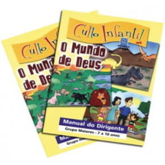CULTO INFANTIL - O MUNDO DE DEUS - VOL 3 - PROF