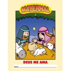 MATERNAL 02 - DEUS ME AMA - Envelope do Tema Bíblico Aluno