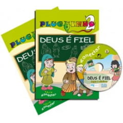 PLUGUINHO 02 - DEUS É FIEL - KIT DO PROFESSOR